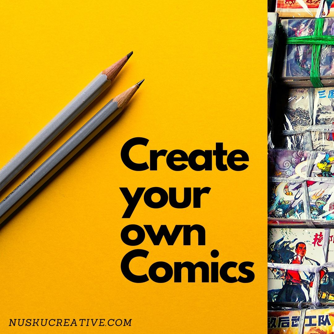 Pencils and Comics with Meggie Ramm